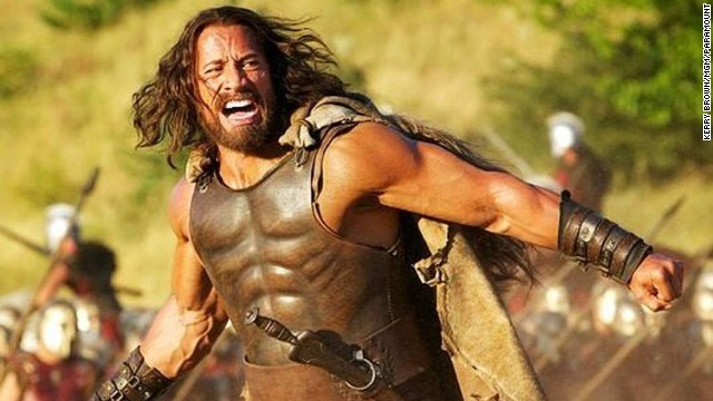 Photo of First look at The Rock as 'Hercules'