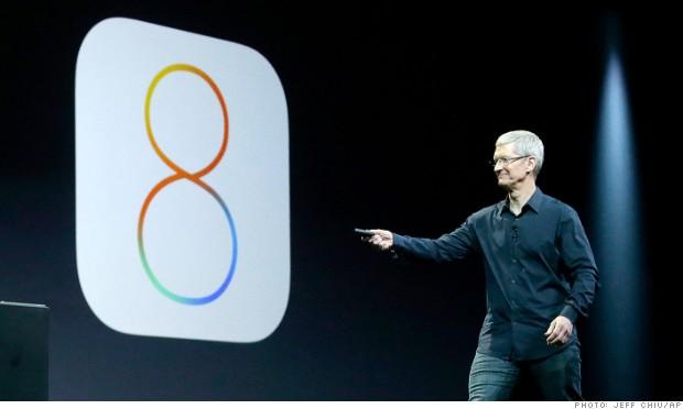 Photo of Apple unveils IOS 8 Update