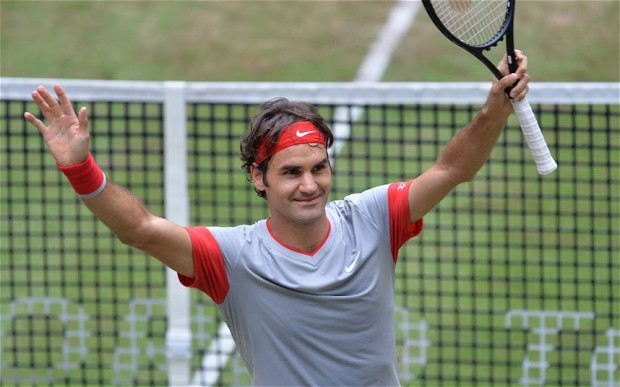 Photo of Roger Federer wins Wimbledon warmup tournament for seventh time