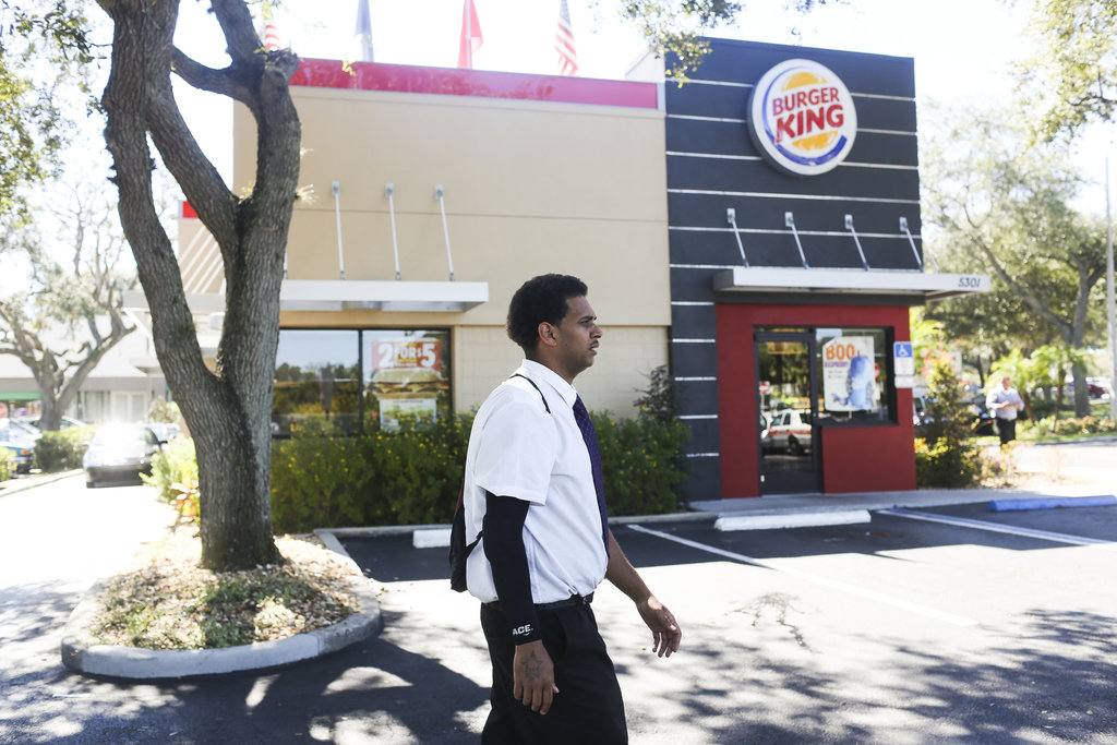 Photo of He Earns $20 an Hour Working at a Fast Food Restaurant