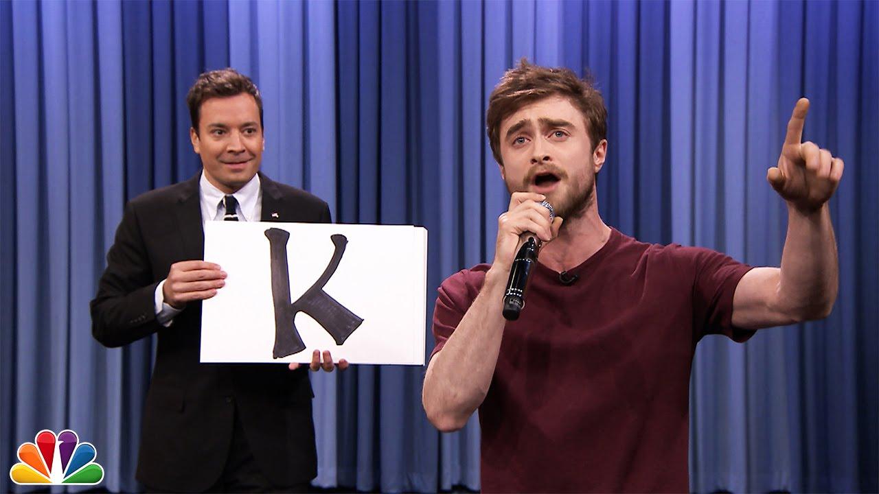 "Photo of Daniel Radcliffe Raps Blackalicious' ""Alphabet Aerobics"""