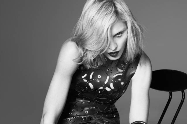 Photo of Madonna Sports Bleached Brows for Versace's New Campaign