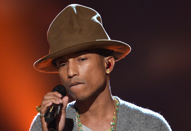"""Photo of Pharrell made less than $3,000 in songwriter royalties from 43 million Pandora streams of """"Happy"""""""