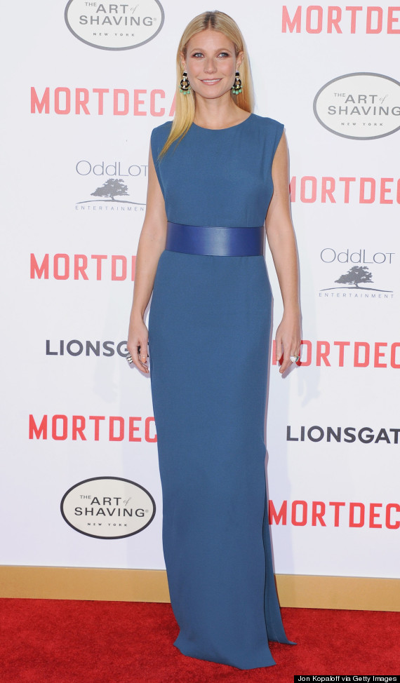Photo of Gwyneth Paltrow's Sideless Dress Is Chic On 'Mortdecai' Red Carpet
