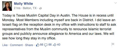 Photo of Texas Muslim Capitol Day Tainted By Anti-Islam Protesters, Lawmaker