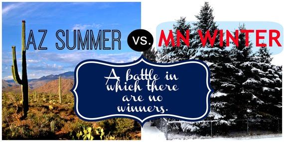 Photo of 20 Ways a Minnesota Winter Equals an Arizona Summer