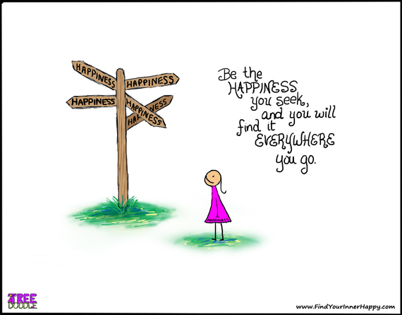 Photo of 4 Steps to Get From Where You Are to Being Happy Where You Are