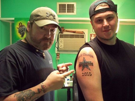 Photo of Cowboys Fan Predicted Super Bowl Win With Tattoo And Is Now Keeping It Anyway