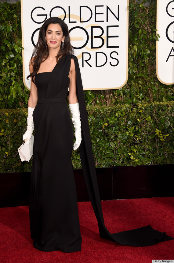 Photo of Amal Clooney's Golden Globes Dress Is The Best Of The Night Because Obviously