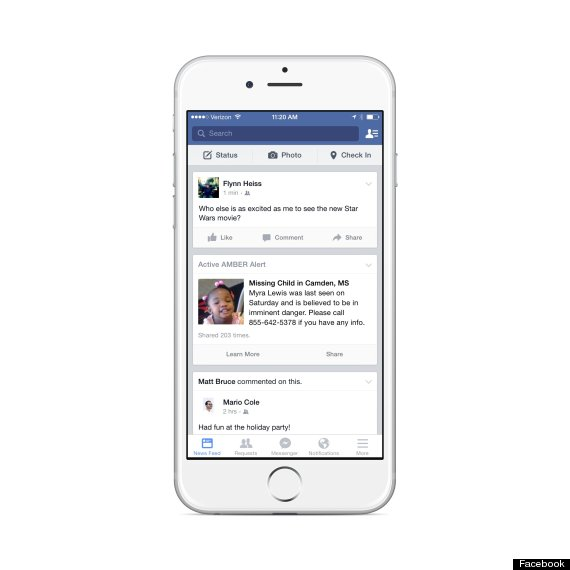 Photo of Facebook Will Now Share Amber Alerts On Your News Feed