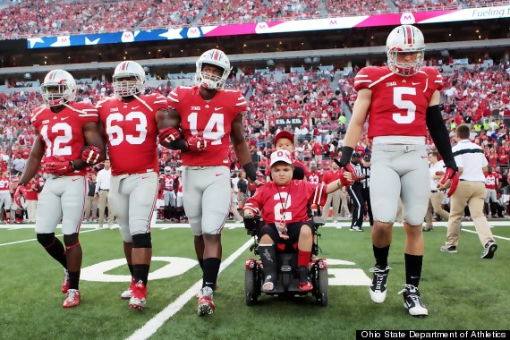 Photo of Ohio State's Victory Was Everything For This Teen With Muscular Dystrophy