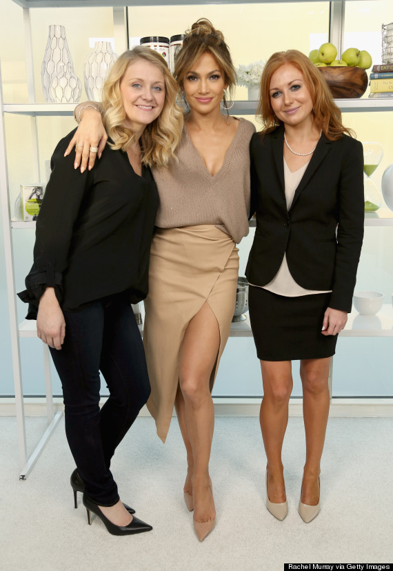 Photo of Jennifer Lopez Is Chic In A Thigh-High Wrap Skirt For BodyLab Launch
