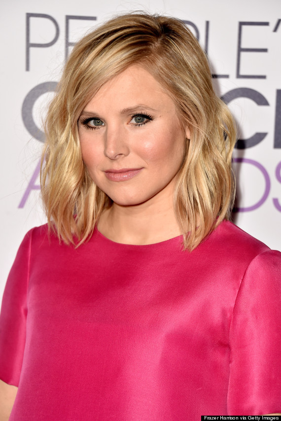 Photo of New Mom Kristen Bell Is Pretty In Fuchsia At People's Choice Awards