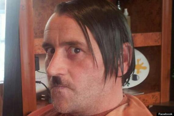 Photo of Lutz Bachmann, Founder Of German Anti-Muslim Movement PEGIDA , Shocks With Hitler Photo