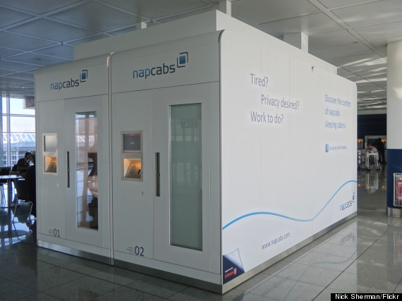 Photo of 'Napcab' Napping Pods Are The Most Genius Way To Survive The Airport
