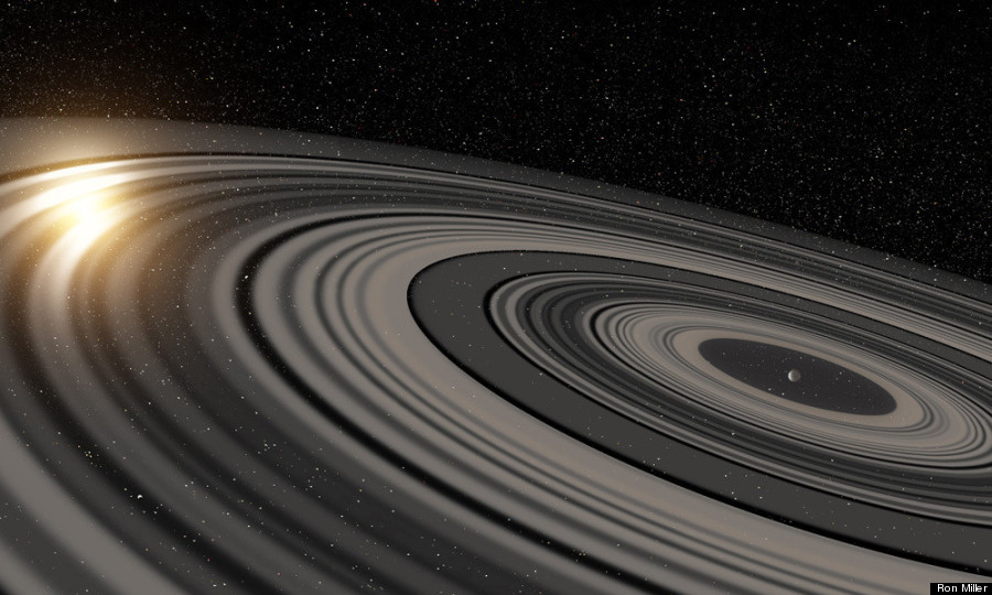 Photo of Stupendous Ring System Discovered Around 'Super Saturn' Exoplanet
