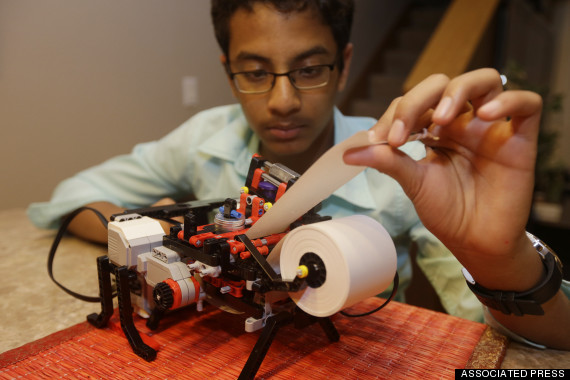 Photo of Teen Starts Company To Make Low-Cost Printers To Help Blind People