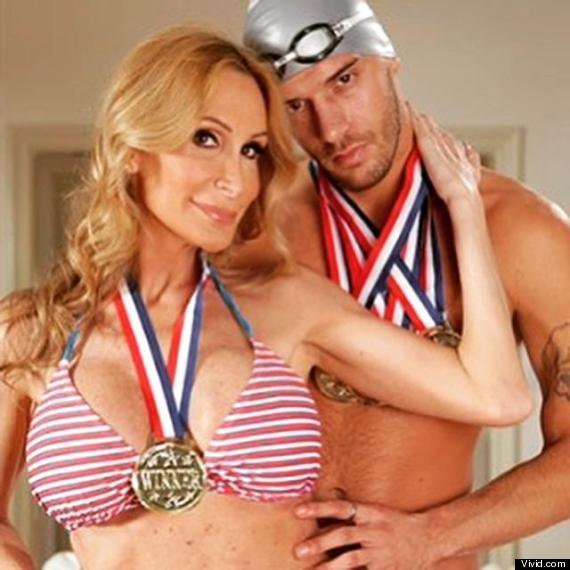 Photo of Taylor Chandler Claims To Reenact Michael Phelps Affair In 'Going For The Gold' Porno