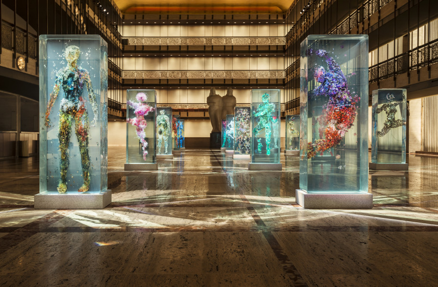 Photo of Brooklyn-Based Artist Dustin Yellin Takes Over The New York City Ballet