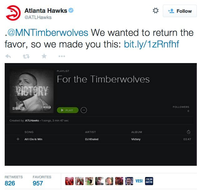 Photo of The Minnesota Timberwolves Just Tried To Trash Talk The Atlanta Hawks And It Ended Badly