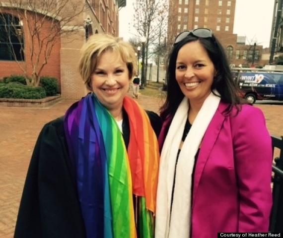 Photo of Baptist Pastor Officiates One Of Alabama's First Same-Sex Weddings