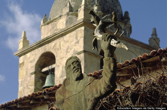Photo of Junipero Serra: Saint Or Sinner? Native American Groups Protest Planned Canonization Of Missionary