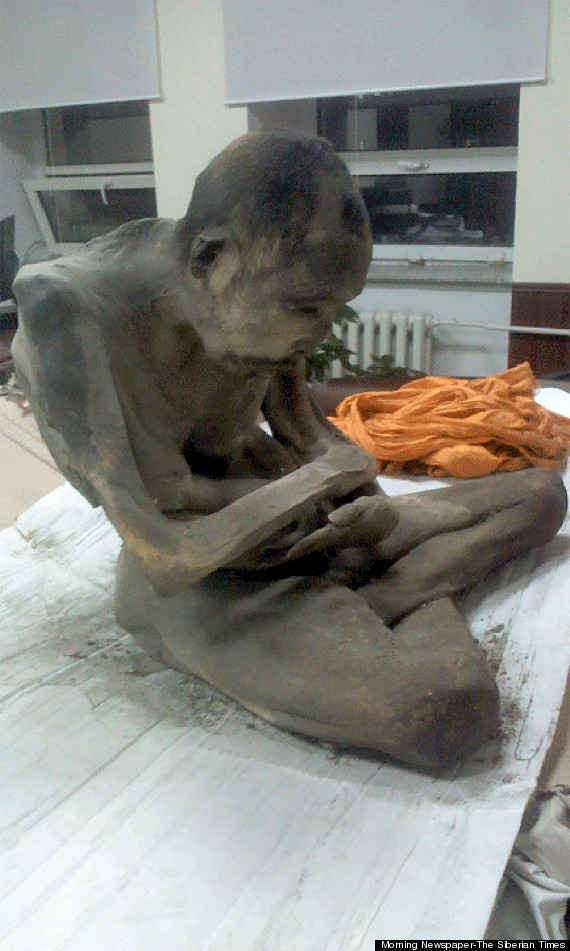Photo of Centuries-Old 'Meditating' Mummy Found In Mongolia