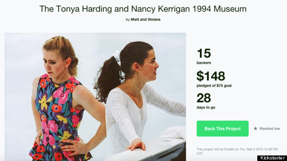 Photo of Comedians Raise Funds For A Nancy Kerrigan-Tonya Harding 'Museum' In Their Hallway