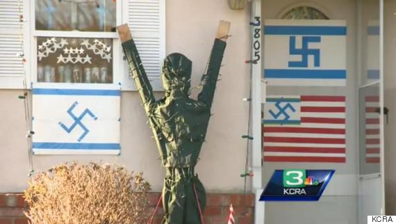 Photo of Swastika Display Outside California Home Has Neighbors, Lawmakers Up In Arms