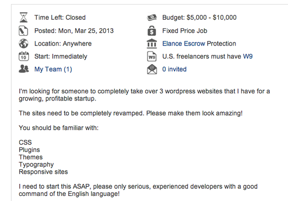 Photo of Hacking Elance: How To Make $23,700 In 4 Weeks Freelancing Online