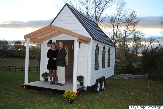 Photo of This Tiny Chapel Is The Cutest Little Wedding Venue You Ever Did See