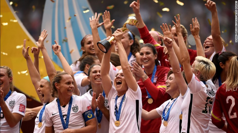 Photo of USA Women's Soccer Team Wins The World Cup