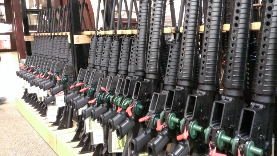 Photo of Walmart says no to Semi Automatic Weapons