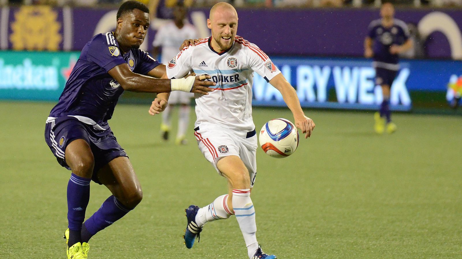 Photo of Orlando City Battles The Chicago Fire and the Rain for a 1-1 Draw