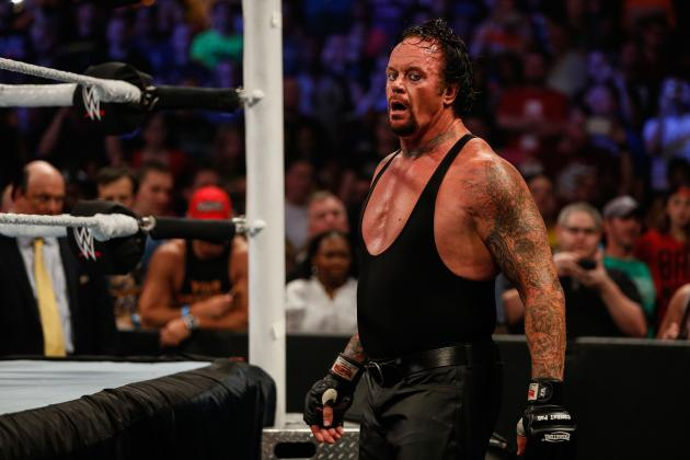Photo of The Undertaker wins then collapses