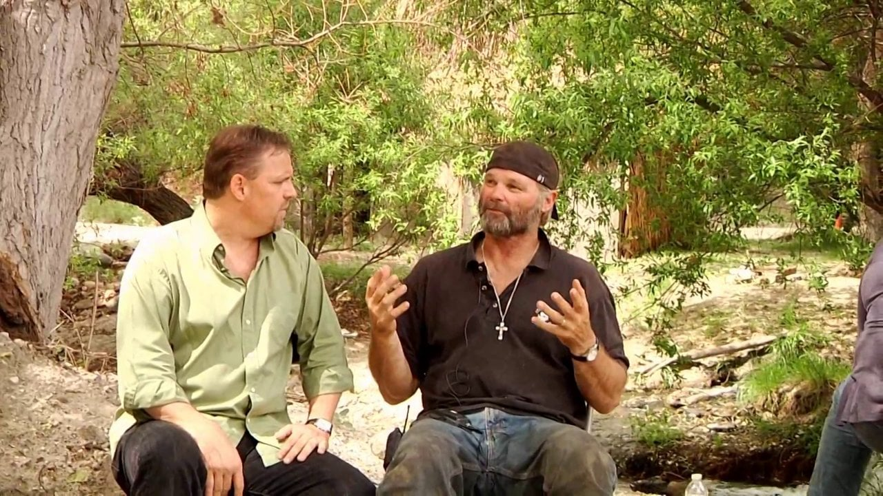 Photo of Silver Dove interviews Hollywood stuntman Monte Perlin