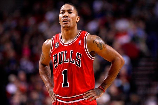 Photo of Bulls Guard Derek Rose Injured