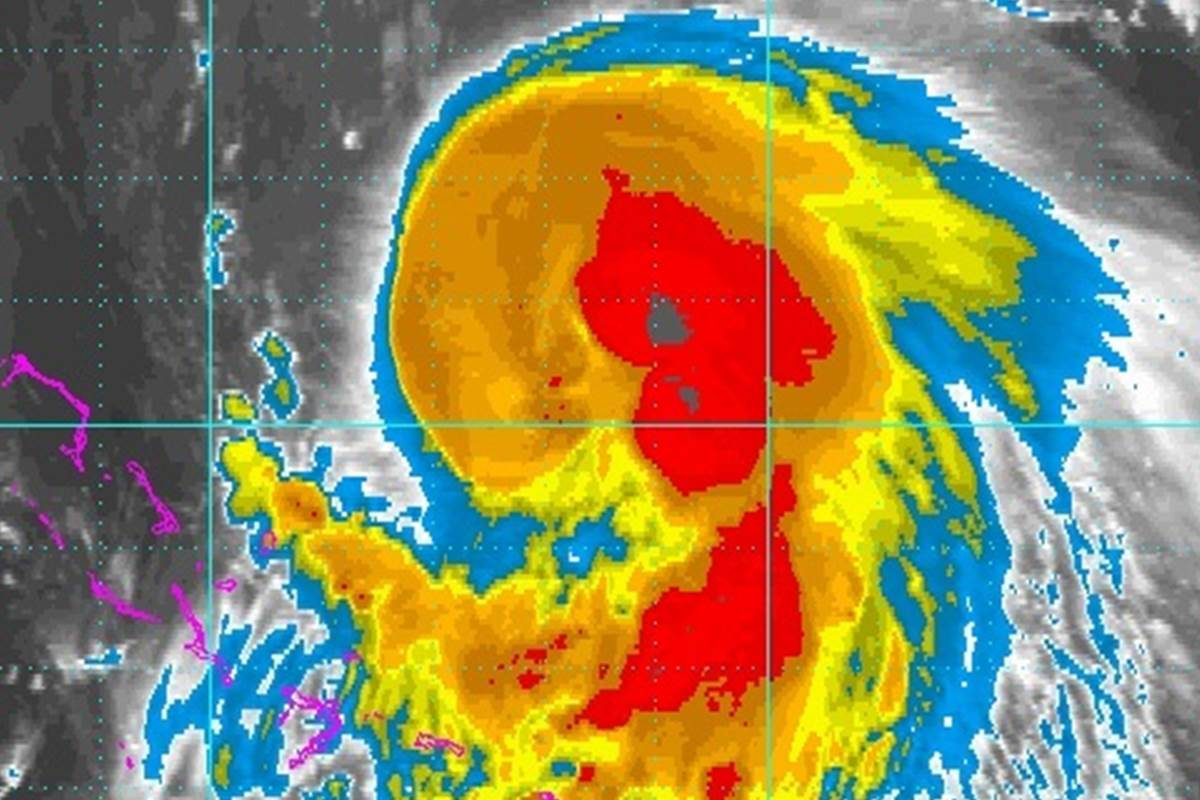 Photo of Hurricane Joaquin becomes Cat 2, Hits Bahamas