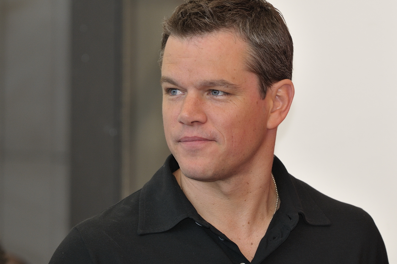 Photo of Matt Damon:  I'm Sorry