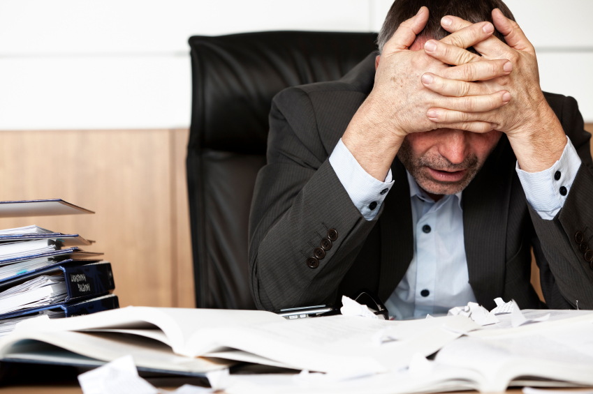 Photo of Work related stress is as bad as secondhand smoke?