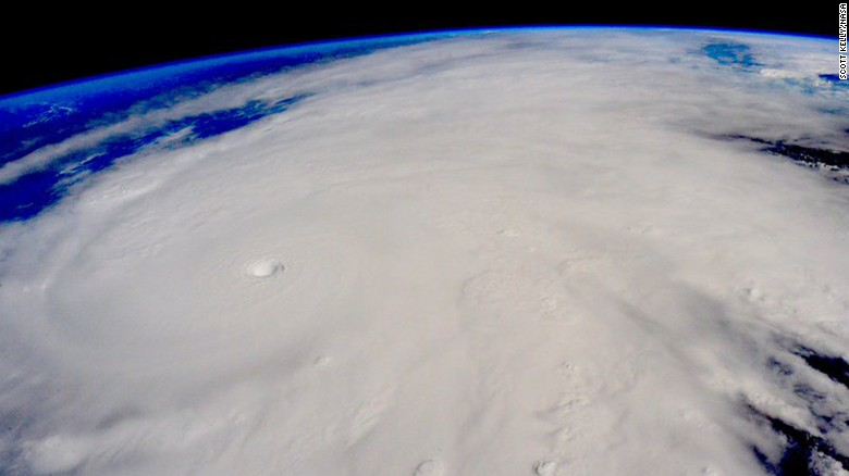 Photo of Hurricane Patricia is the most dangerous storm in History