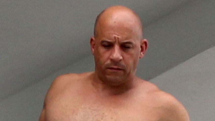 Photo of What happened Vin Diesiel?  Photo will shock you.