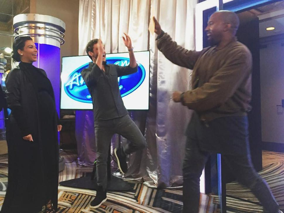 Photo of Kanye's Auditions for 'American Idol'!