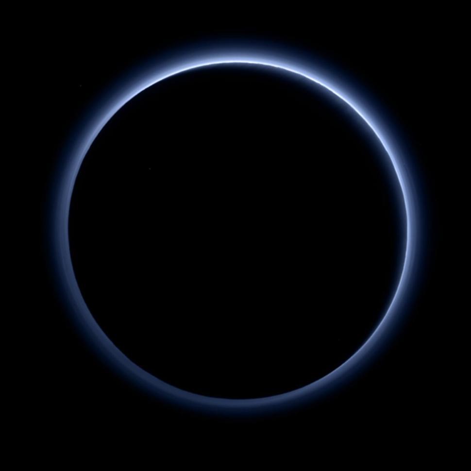 Photo of Pluto Has A Blue Sky