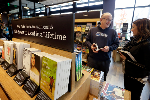 Photo of Amazon To Open Its First Physical Bookstore