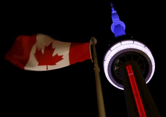 Photo of World Landmarks Lit Up In Solidarity With France