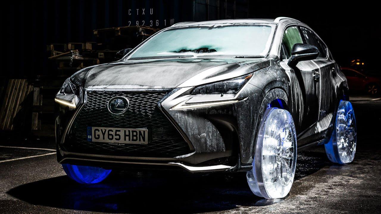 Photo of Lexus:  New NX Car Drives on Ice Wheels
