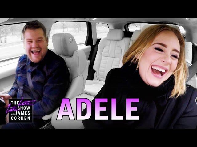 Photo of Adele Joins Carpool Karaoke