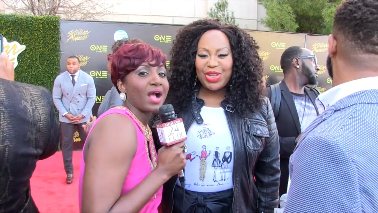 2016 Stellar Awards Red Carpet - Interview with Dr  Cindy
