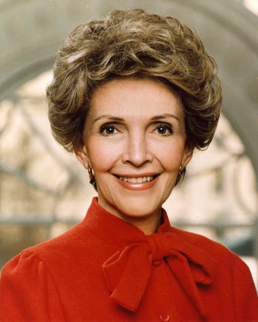 Photo of Former First Lady Nancy Reagan Dead at 94